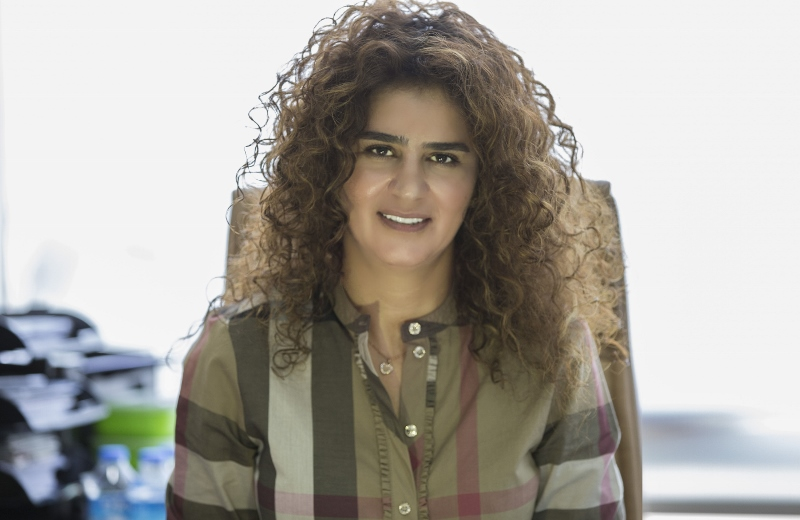 Nathalie Awadissian - the manager of Programs and Production at Al Oula Radio (800x520)