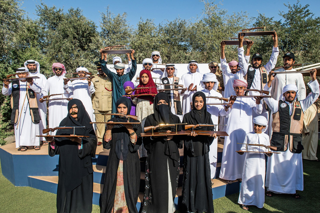 Emiratis display skills in Saktoun at Fazza Championship for