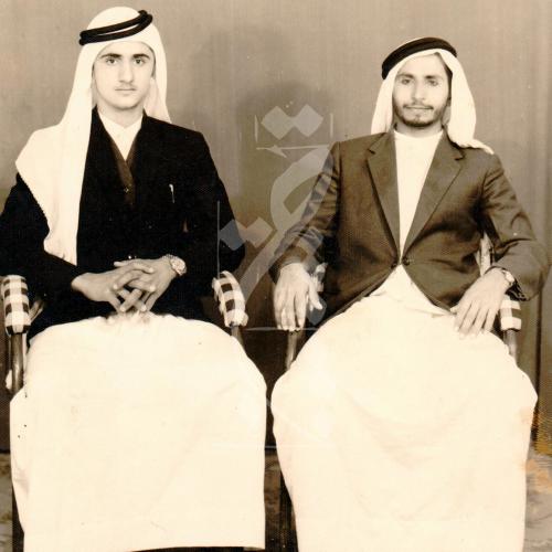 الشيخ محمد راشد ومحمد